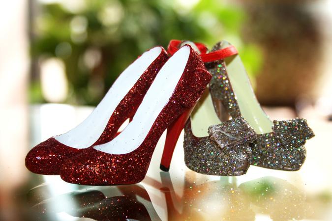 Zapatos árbol de Navidad